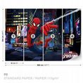 Spiderman comics character giant wall mural by Homewallmurals